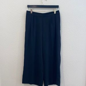 JCrew Wide Leg Crop Pants 365 Crepe